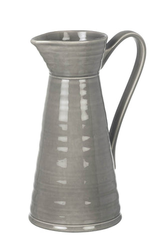 Colne Ceramic Grey Pitcher Homeware Parlane