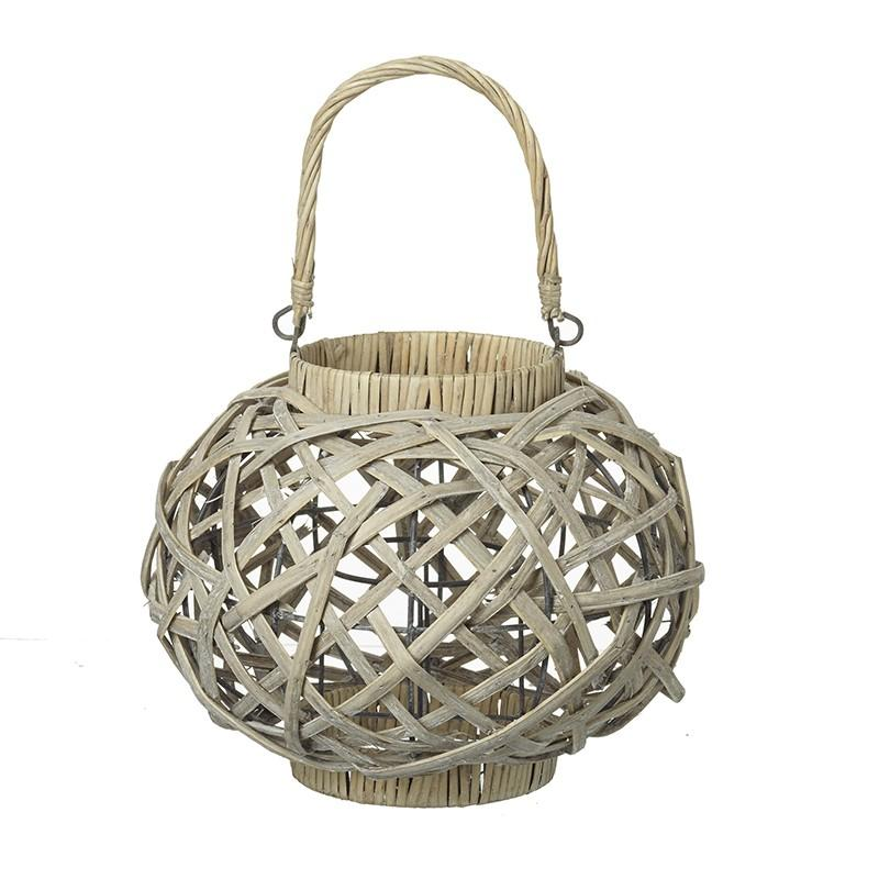 Cream Round Lantern Homeware Heaven Sends