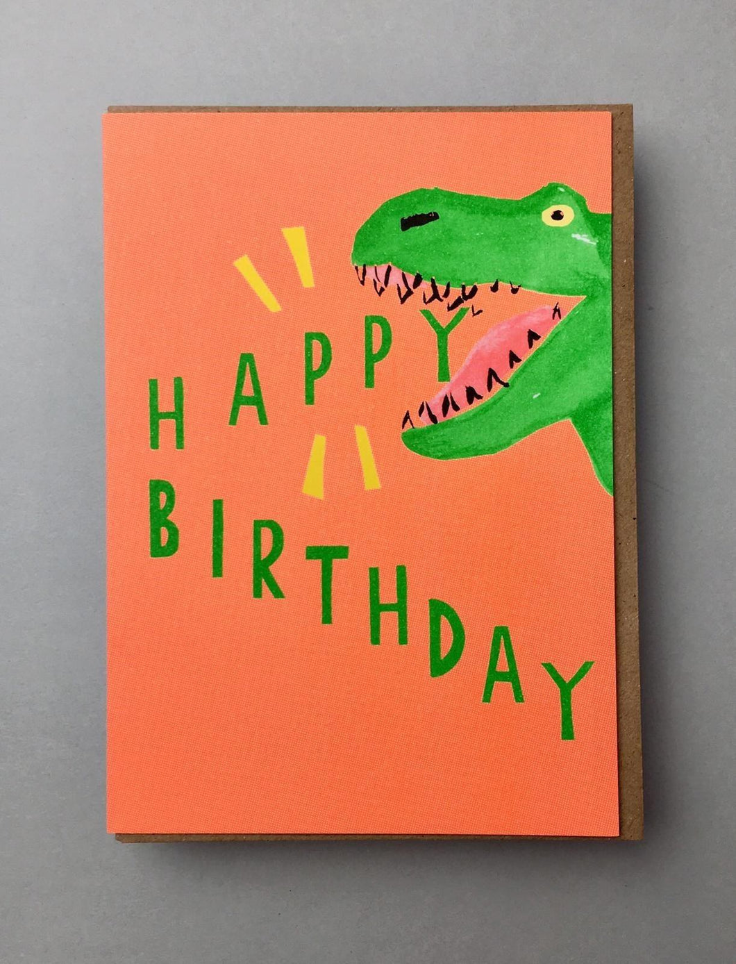 Dinosaur Birthday Card Stationery Earlybird