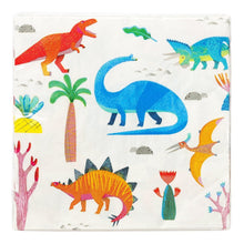 Load image into Gallery viewer, Dinosaur Party Napkins Party Talking Tables