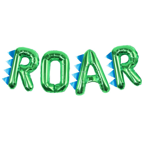 Dinosaur Party ROAR Balloon Bunting - Roarsome Party Ginger Ray