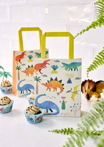 Dinosaur Treat Bags Party Talking Tables