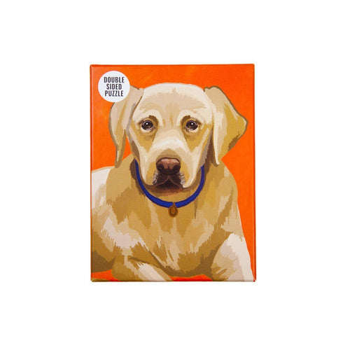 Double Sided Labrador Puzzle Gift Talking Tables