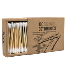 Load image into Gallery viewer, Eco Bamboo Cotton Buds Beauty Ryder