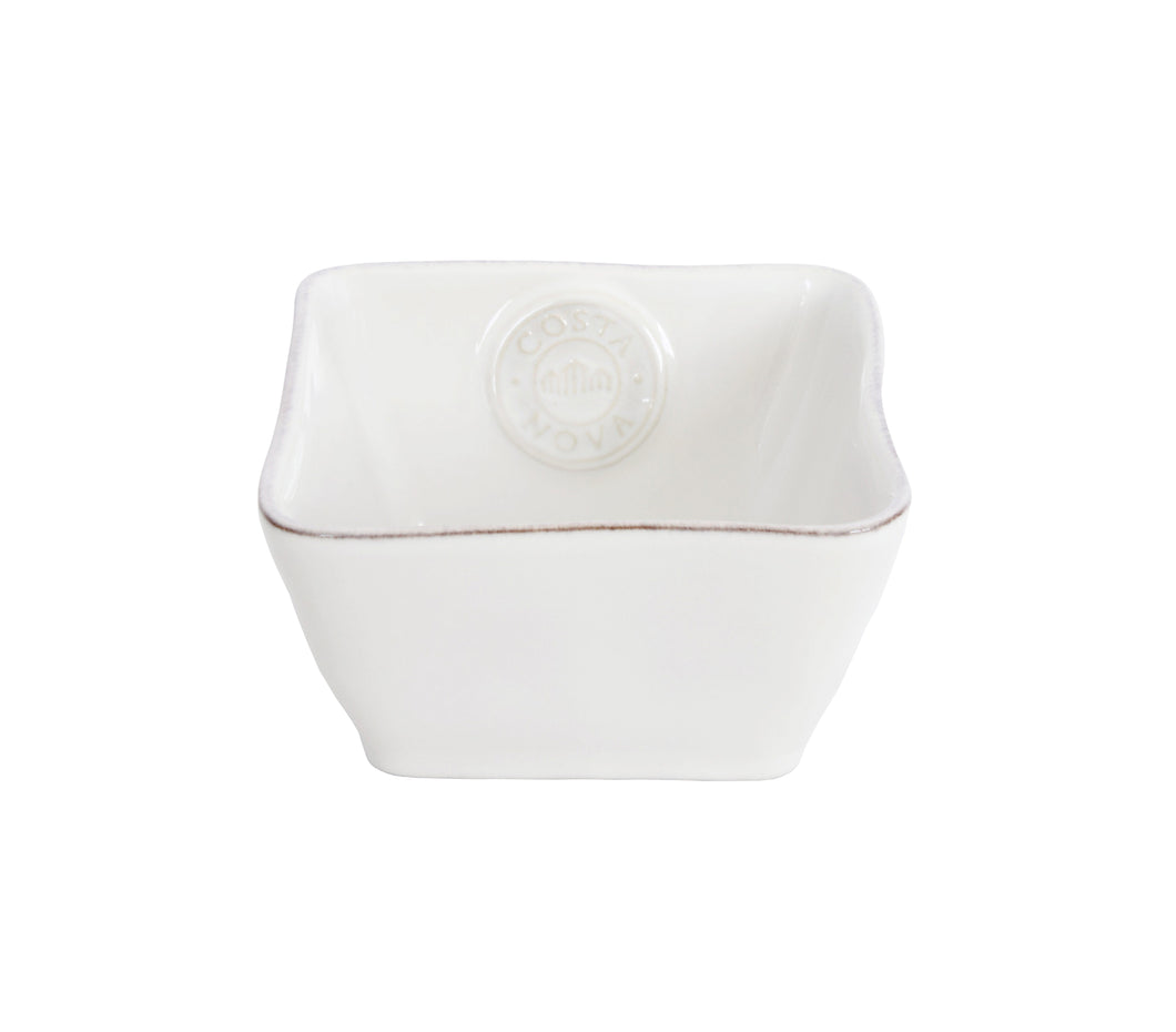 Emblem White Mini Square Bowl Homeware Costa Nova
