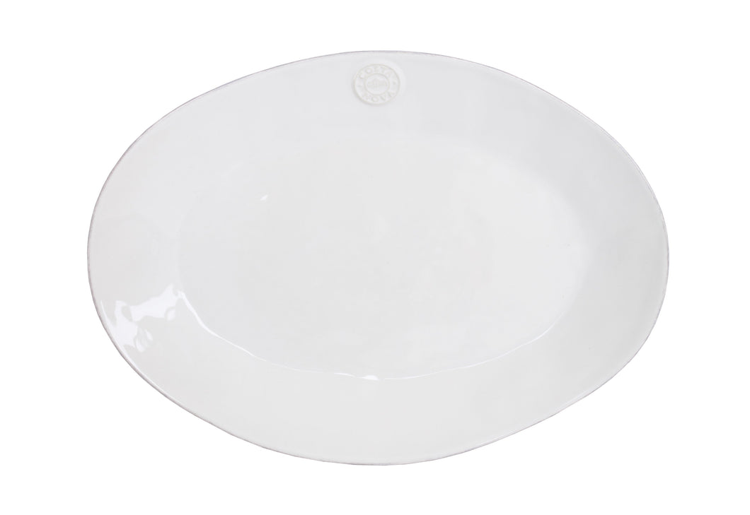 Emblem White Oval Serving Platter Homeware Costa Nova