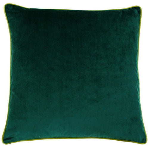 Emerald and Moss Velvet Cushion Soft Furnishing Riva Home