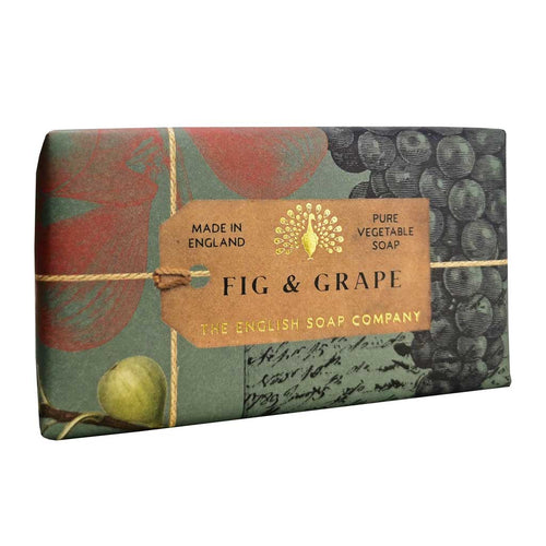 Fig and Grape Gift Soap Beauty English Soap Company