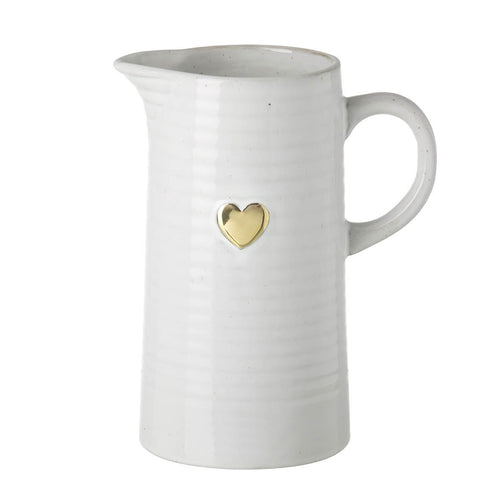 Gold Heart Jug Homeware Parlane