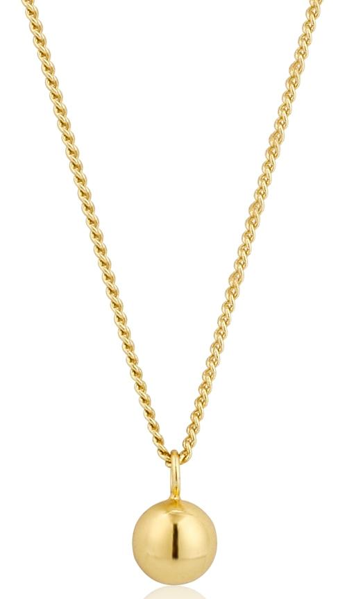 Gold Orbit Ball Necklace Jewellery Ania Haie