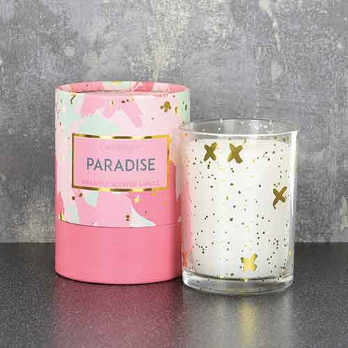 Gold Paradise Candle Home Fragrance Candlelight