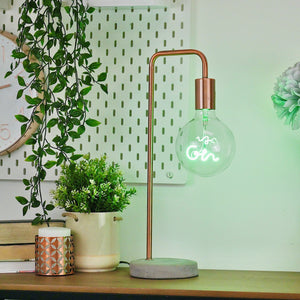 Green Gin LED Bulb Lighting Steepletone