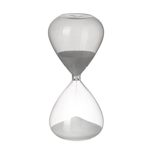 Grey Glass Sandtimer Homeware Parlane
