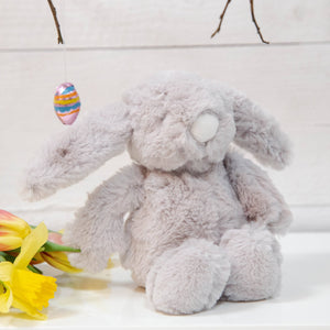 Grey Plush Rabbit Toy Children's Widdop