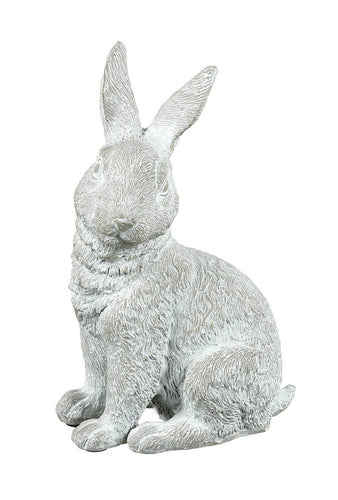 Grey Sitting Rabbit Decoration Homeware Parlane