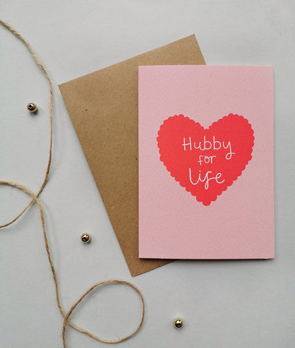Hubby for Life Card Stationery Helen Richmond
