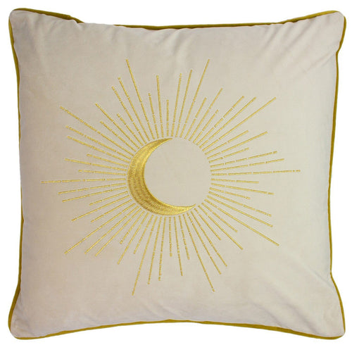Ivory Astrology Cushion Soft Furnishing Riva Home
