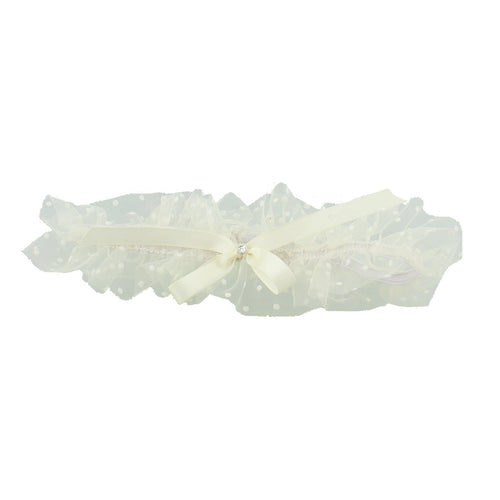 Ivory Lace Wedding Garter Party Widdop