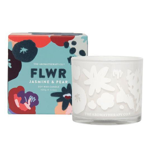 Jasmine and Pear Candle Home Fragrance Widdop