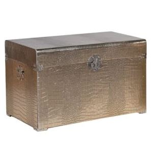 Large Gold Trunk Furniture Coach House