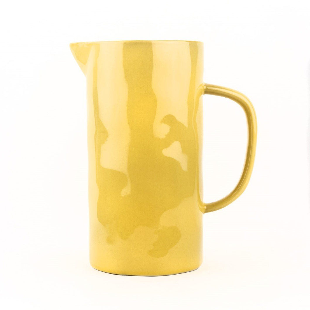Large Yellow Jug Homeware Quail