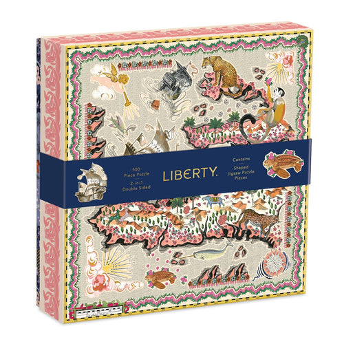 Liberty London Maxine 500 Piece Puzzle Gift Abrahms and Chronicle