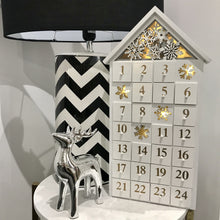 Load image into Gallery viewer, Light Up Wooden Advent Calendar Christmas Heaven Sends