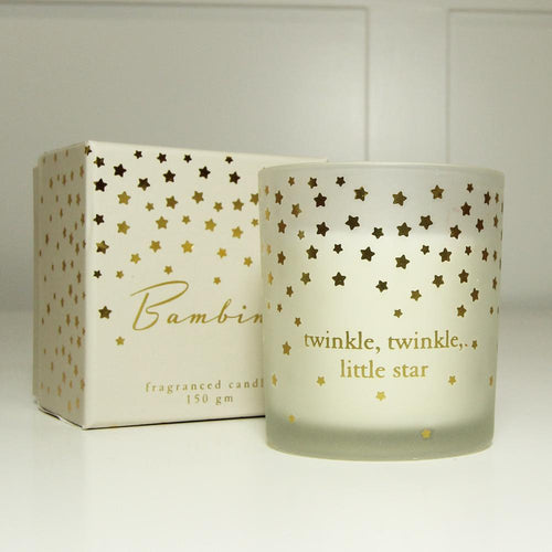Little Star Cotton Fragrance Candle Gift Widdop