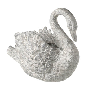 Local Collection Only - Elegant Swan Planter Homeware Parlane