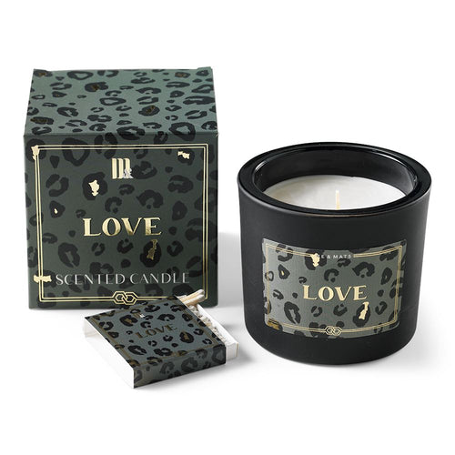 Love Candle with Matches Home Fragrance Me&Mats