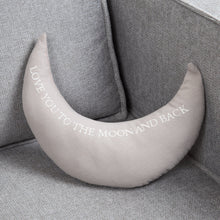 Load image into Gallery viewer, Love You To The Moon Cushion Soft Furnishing Widdop
