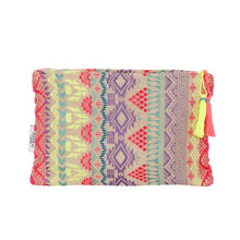 Load image into Gallery viewer, Miami Yellow and Pink Boho Mini Clutch Accessories Ashiana London