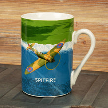 Load image into Gallery viewer, Military Heritage Mug Spitfire Gift Widdop