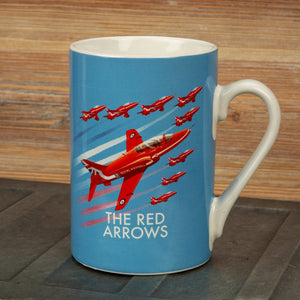 Military Heritage Mug The Red Arrows Gift Widdop