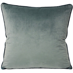 Mineral Velvet Cushion Velvet and Parade
