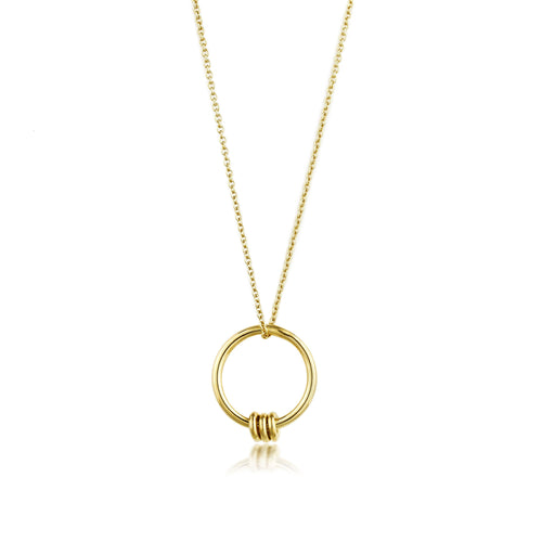 Modern Minimalism Gold Chain Necklace Jewellery Ania Haie