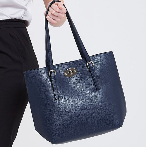 Navy 2 in 1 Tote Accessories Kris Ana