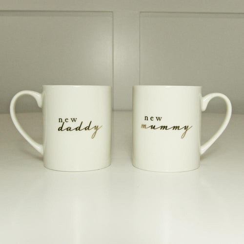 New Mummy and Daddy Gift Mugs Gift Widdop
