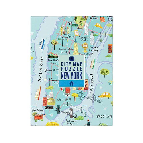 New York City Map Puzzle Gift Talking Tables