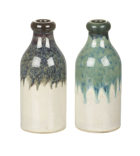 Ombre Ceramic Bottle Vase Homeware Parlane