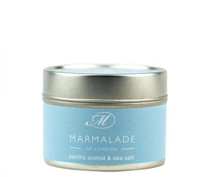 Pacific Orchid and Sea Salt Tin Candle Home Fragrance Marmalade