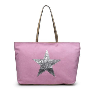 Pale Pink Star Bag Accessories House of Milan