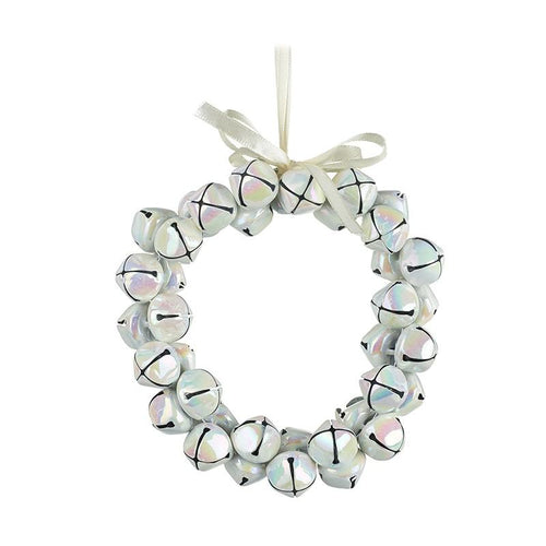 Pearlescent Jingle Bell Mini Wreath Christmas Heaven Sends