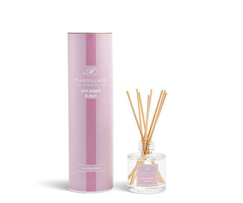 Pink Pepper and Plum Reed Diffuser Home Fragrance Marmalade