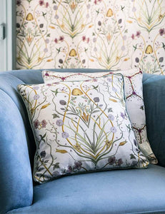 Potagerie Cream Cushion Soft Furnishing Belfield