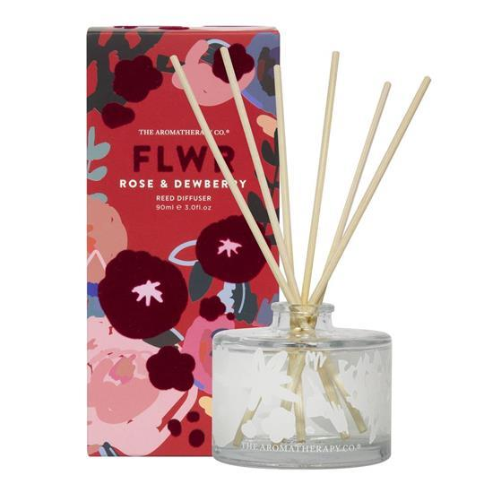 Rose and Dewberry Reed Diffuser Home Fragrance Widdop