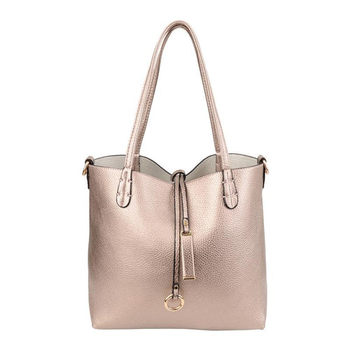 Rose Gold and Silver 2 in 1 Handbag Accessories Kris Ana