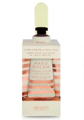 Rose Gold Hand Care Set Beauty Mad Beauty Pomegranate and Lime