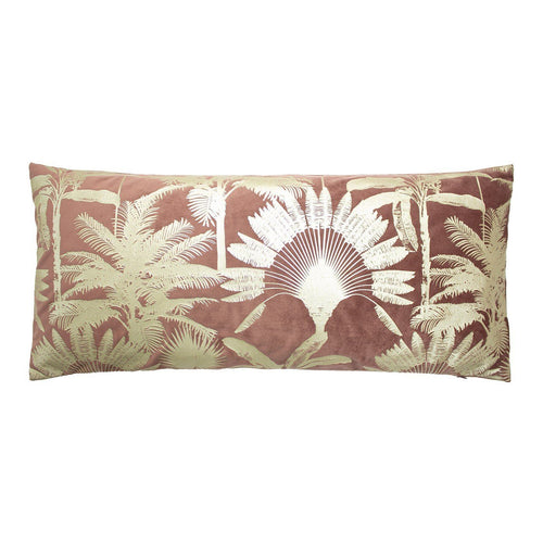Rose Tropical Palm Cushion Soft Furnishing Riva Home