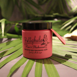 Rum and Blackcurrant Shea Butter Moisturiser Beauty Betty Hula